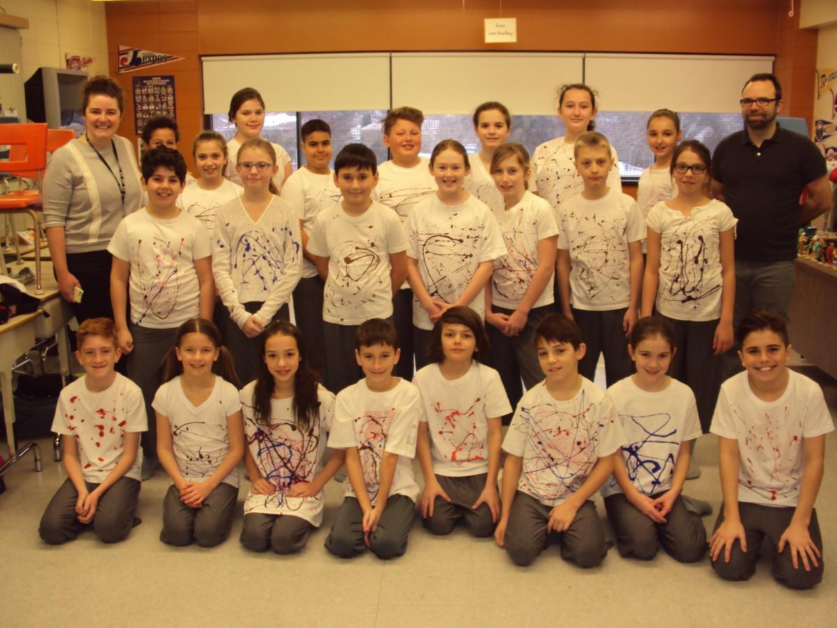 Projet P'Artscours présenté par les élèves de l'école primaire Piché-Dufrost à Saint-Constant pour prévenir l'intimidation à l'école.