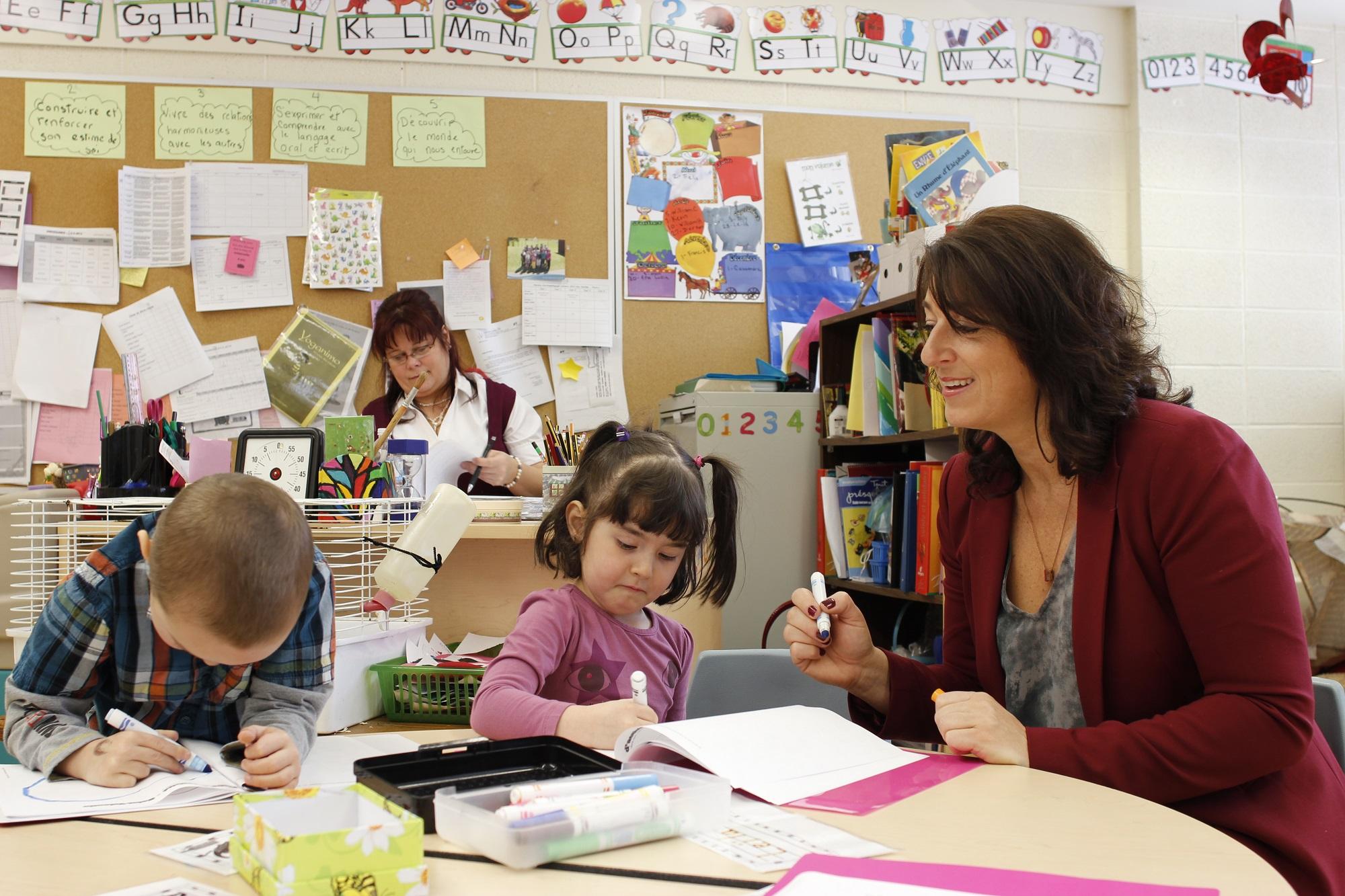 Photo Maternelle 4 ans Sainte-Clotilde Plan stratégique