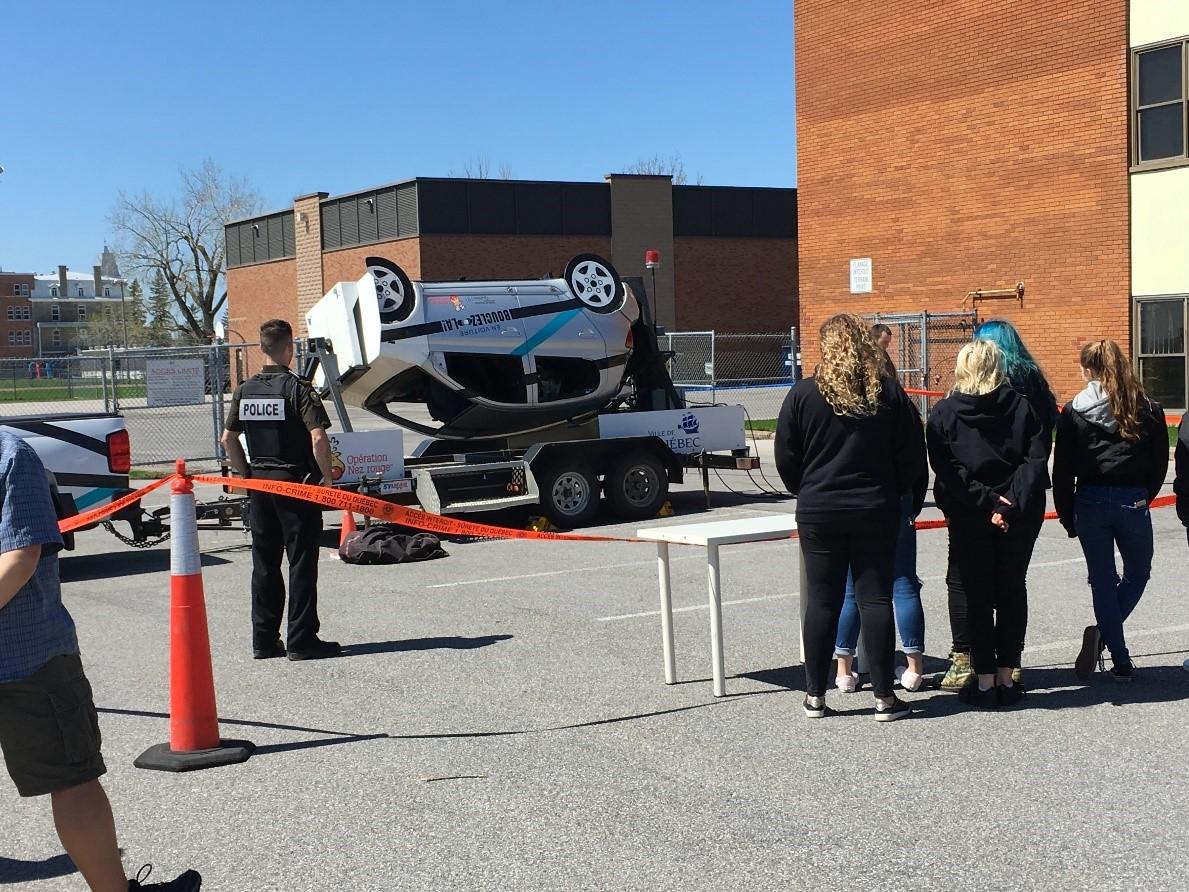 Photo sécurité routière écoles secondaires 01