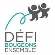 Logo du Défi Bougeons ensemble - fond blanc