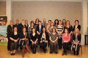 Les bénévoles honorés par le comité de parents pour l'année 2015-2016.