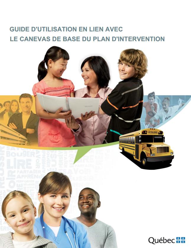 Guide d'utilisation en lien avec le canevas de base du plan d'intervention