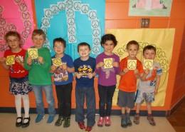 Les élèves de l'école primaire Daigneau à Napierville