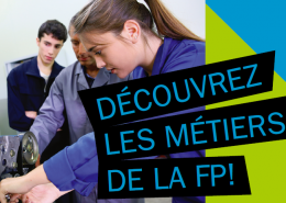 Découvrez les métiers de la FP en visitant notre page : www.csdgs.qc.ca/fp
