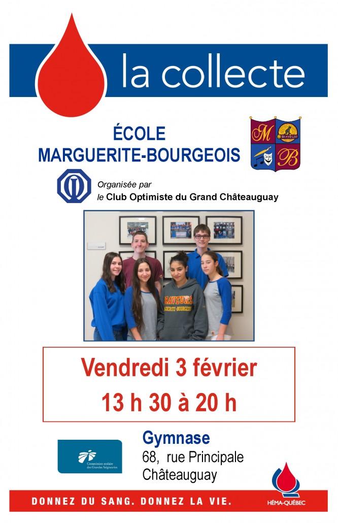 Affiche Collecte de sang Marguerite-Bourgeois 2017-02-03