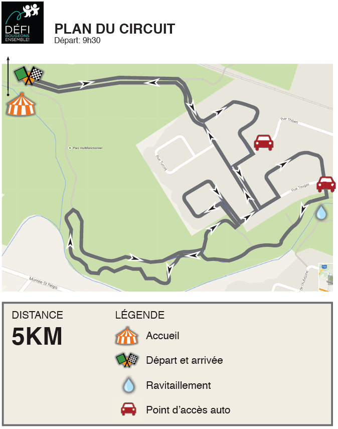 Défi BE_Parcours 05 km_édition 5
