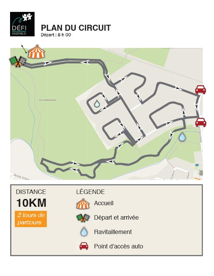 Défi BE_Parcours 10 km_édition 5
