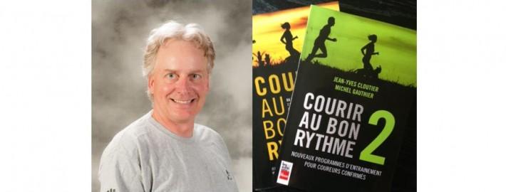 Photo Jean-Yves Cloutier Défi Bougeons ensemble et cover de ses livres