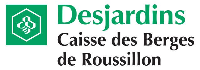 Logo Desjardins Caisse des Berges de Roussillon
