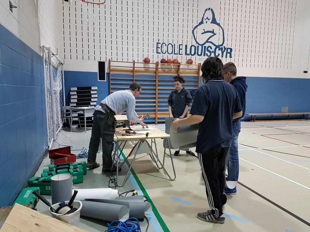 Atelier FP à Louis-Cyr - Pose de revêtement de toiture 02