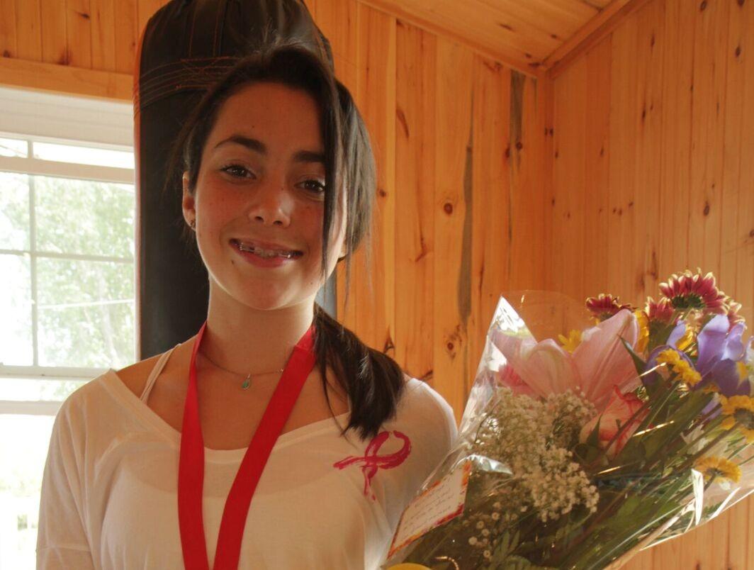 Une élève de l'école Bonnier, championne canadienne de boxe!