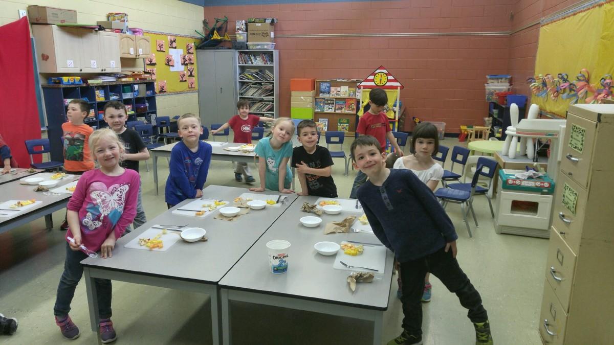 On cuisine à l'école primaire Jacques-Barclay!