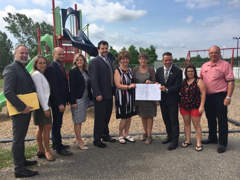 Investissement de plus de 6,5 millions de dollars pour l'agrandissement de l'école Sainte-Clotilde.