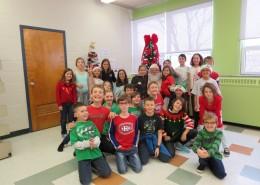 Visite féerique à l'école Jean-XXIII!