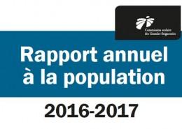 Rapport annuel 2016-2017_Page 1_image à la une
