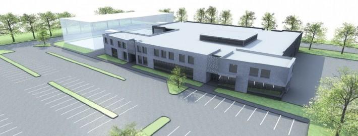 Maquette de la nouvelle école spécialisée en construction à Châteauguay.