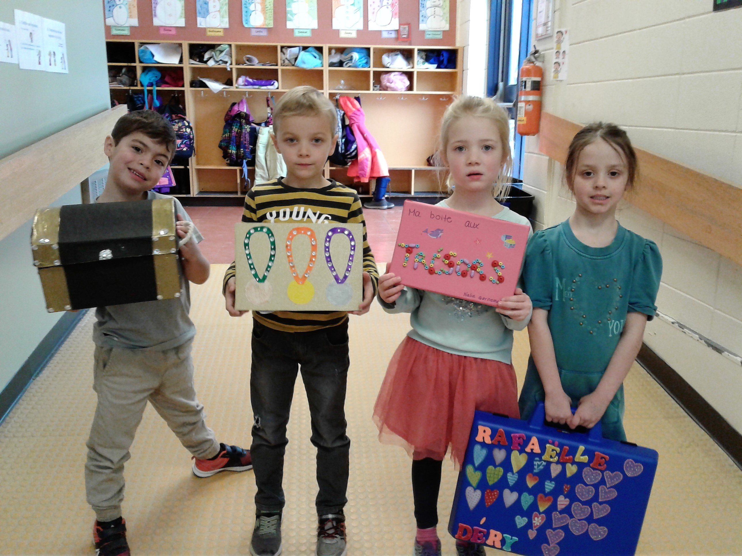 Des petits trésors à l'école des Moussaillons
