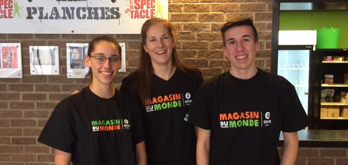 Deux élèves de l'école de la Magdeleine au Congrès du commerce équitable de Vancouver!