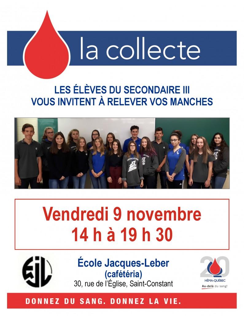 Affiche collecte de sang J-Leber 2018-11-09
