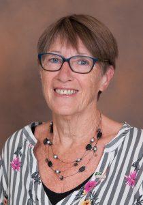 La présidente du conseil des commissaires de la CSDGS, madame Marie-Louise Kerneïs.